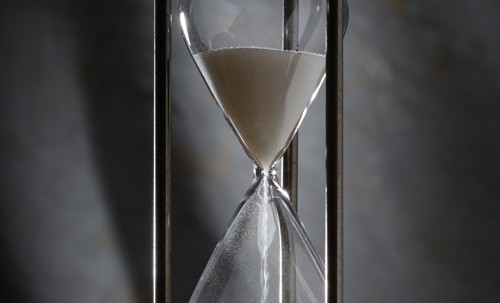 10 minute Hourglass or sandglass timer