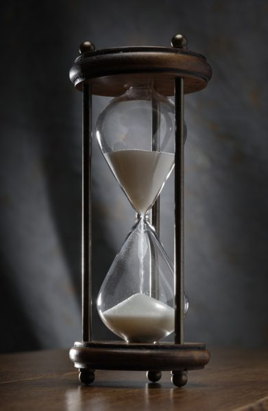 egg timer in operation., commercial product photography