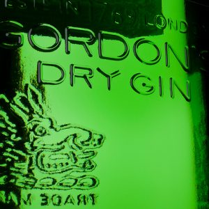 gordons dry gin, food & drink product photography