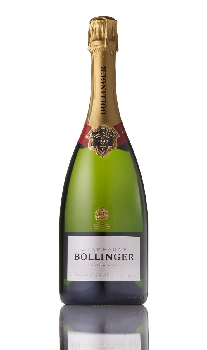 Bollinger champagne bottle